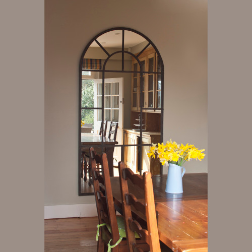 Image of Metal Arch Mirror