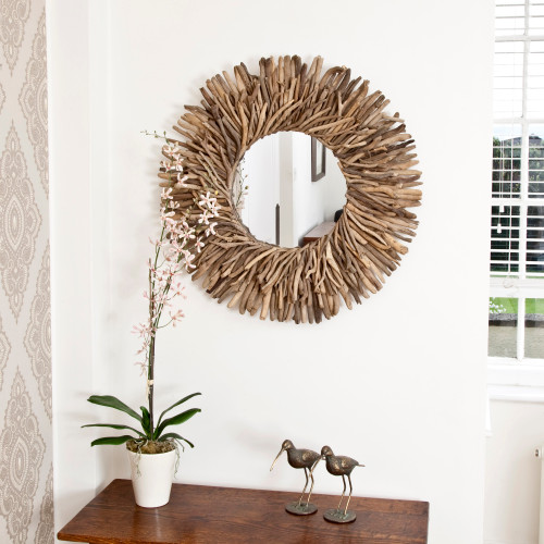 Image of Peaches Driftwood Mirror