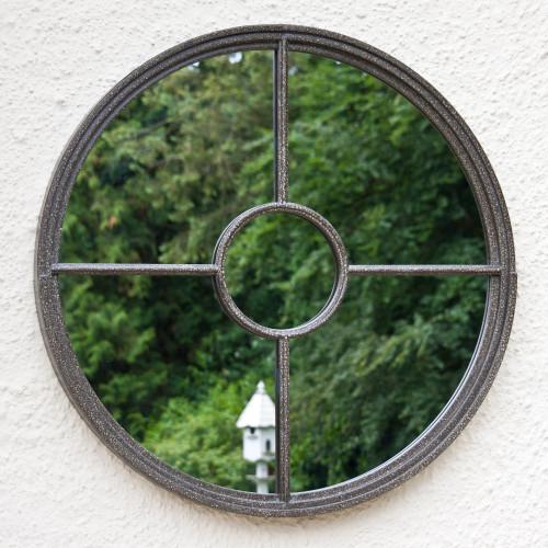 Image of Rochelle Round Garden Mirror