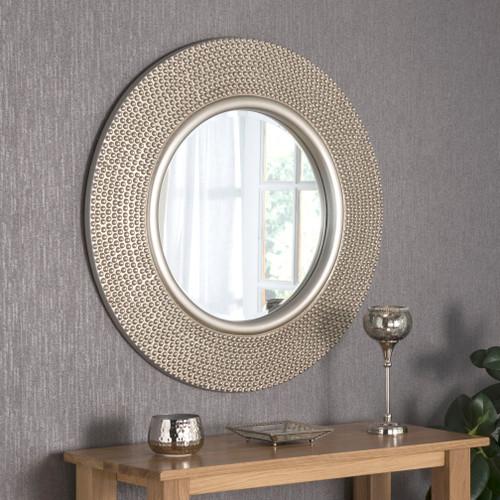 Rovigo Silver Modern Mirror