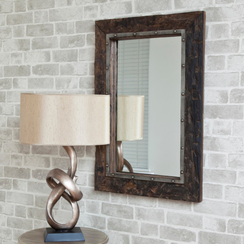 Image of  Wooden Sleeper Mirror