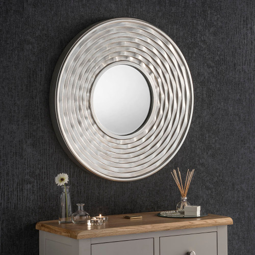 Image of Silver plate mirror