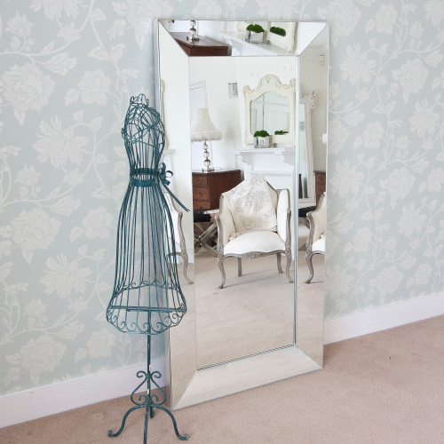 Image of Tuscany All Glass Full Length Mirror