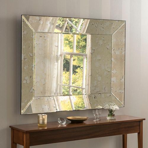 Image of Vintage Antiqued Mirror