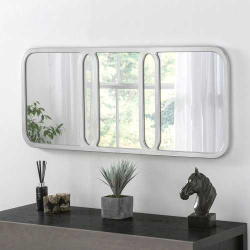 Image of Elegant Silver mirror