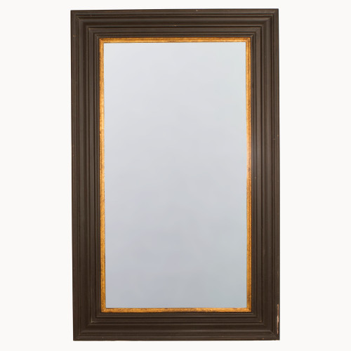 Image of Wilton Rusty Black and Gold Mirror