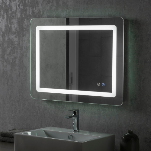 Image of Boyd LED Bathroom Illuminated Mirror