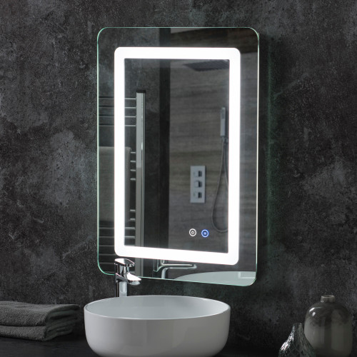 Image of Irving LED Bathroom Illuminated Mirror
