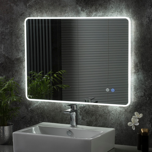 Image of Haddon LED Bathroom Illuminated Mirror