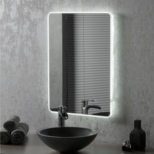 Image of Fry LED Bathroom Illuminated Mirror