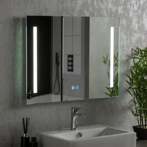 Image of Corlett LED Illuminated Bathroom Mirror