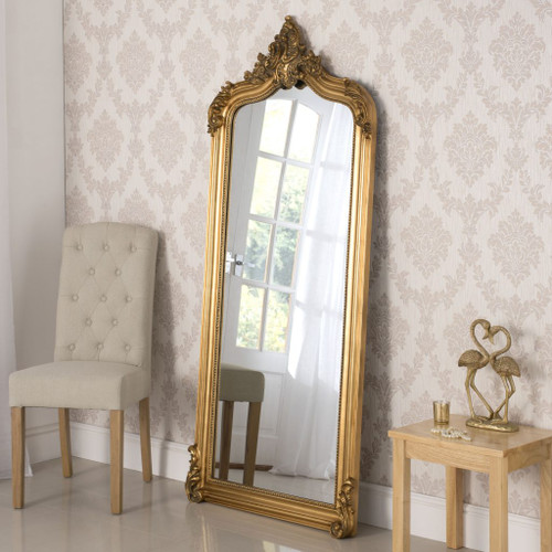 Image of Gold Monroe Extra Large Decorative Mirror