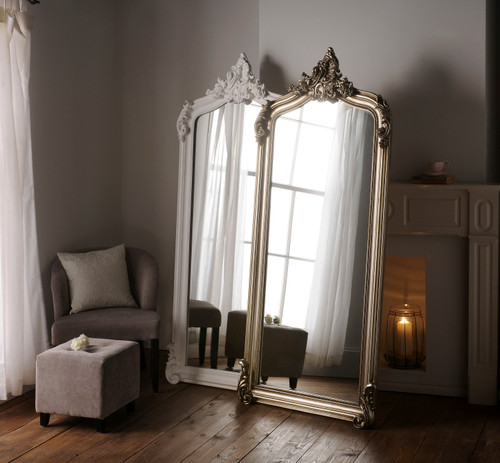 Image of Silver Monroe Extra Large Decorative Mirror