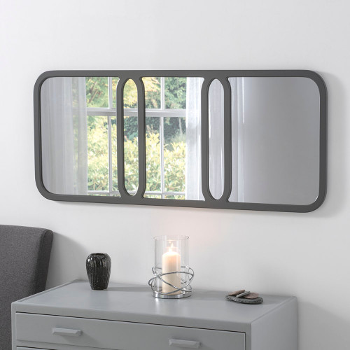 Elegant Grey Mirror
