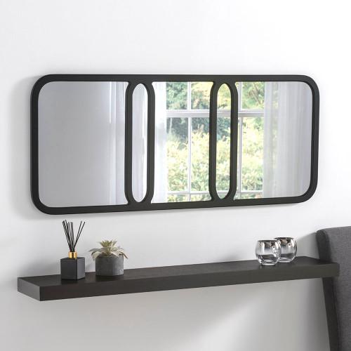 Image of elegant black mirror
