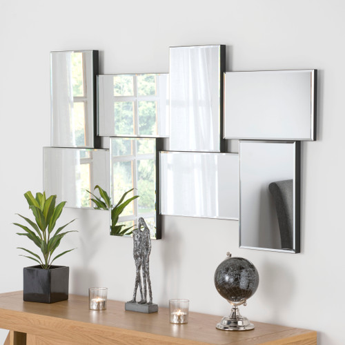 Image of Panelled mirror