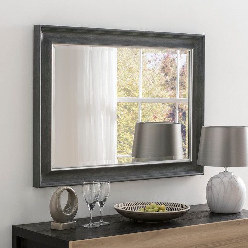 Image of Dash charcoal mirror