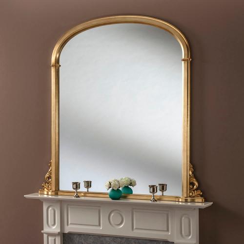 Image of Sophia Gold Mantle Mirror