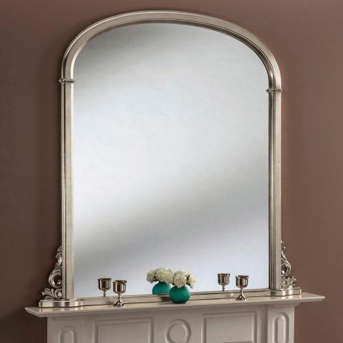 Image of Sophia Silver Mantle Mirror