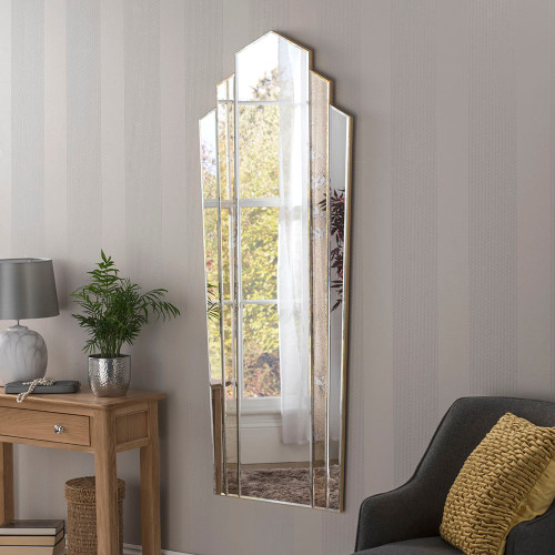 Image of  mottled antique  Full Length Mirror