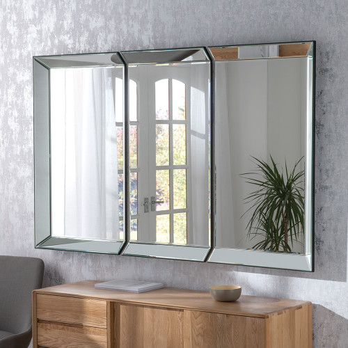 image of Rennes panel mirror