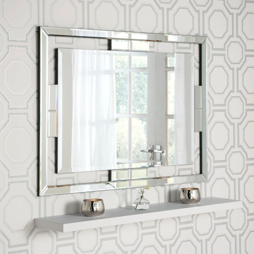 Image of Venetian  bevelled mirror