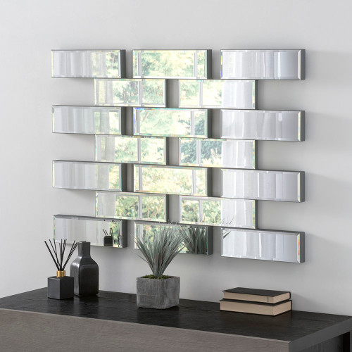 Image of Battersea brick work mirror