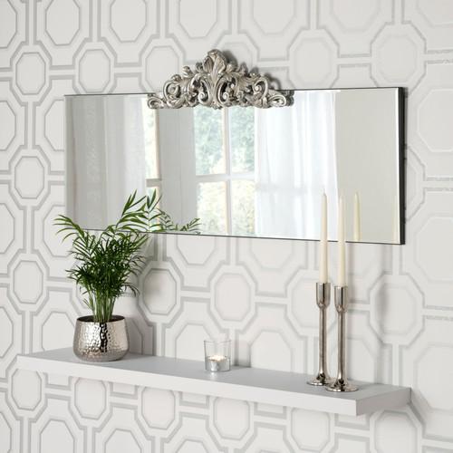 Image of Poplar vintage mirror