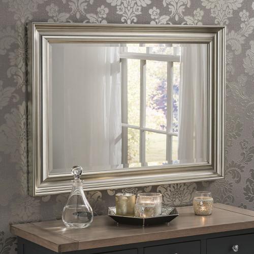 Image of Dash silver mirror