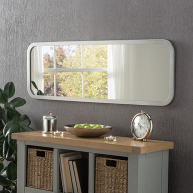 Silver Oblong Modern Mirror Modern Mirrors Free