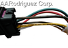 Brand New, Complete Jetta Headlight Wiring Harness 1999 - 2005 VW MK4 Genuine OE Parts-9