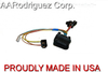 (2) Brand New, Complete VW MKIV Golf Headlight Wiring Harness 1999.5 - 2005 Genuine OE Components - front
