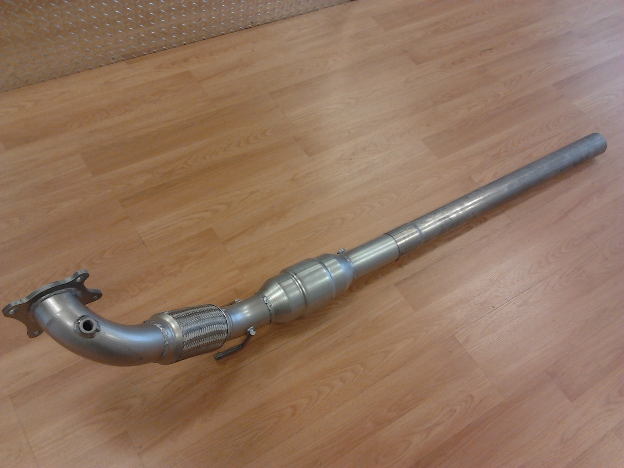 "3"" Downpipe for MK5/6 - 2.0T - 2"