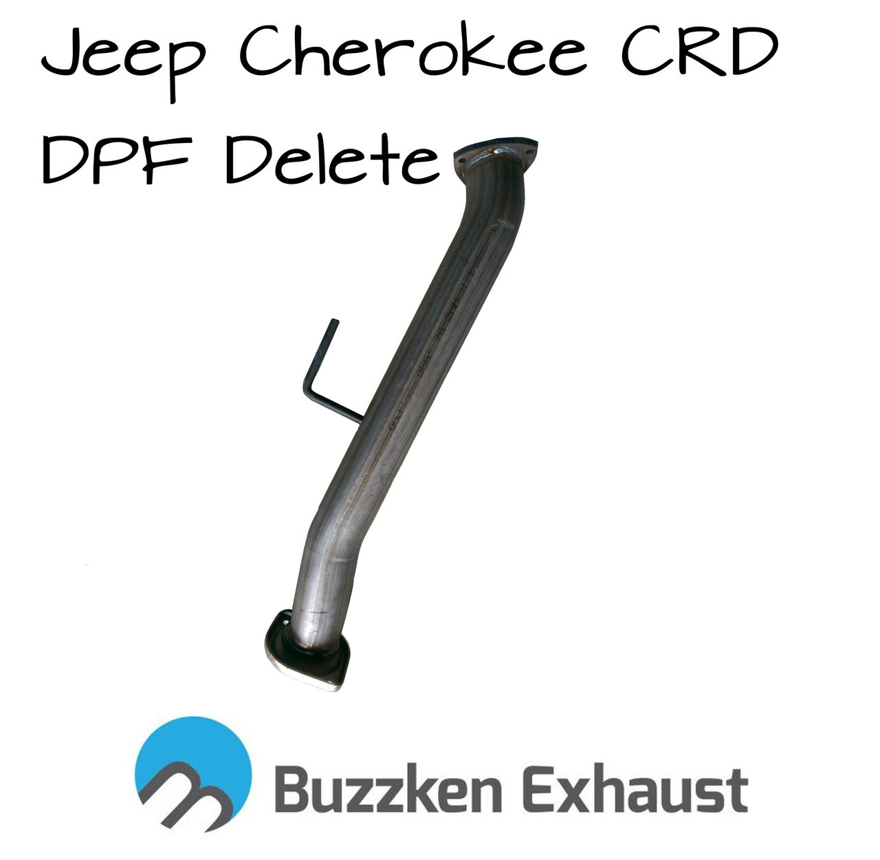 Cherokee '07-'08 crd dpf delete pipe - BuzzKen (buzz-crd-0708) - 1