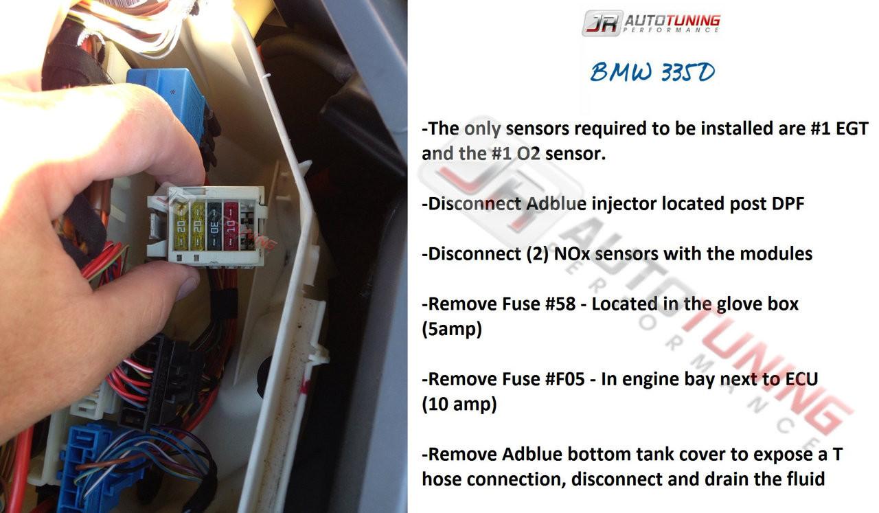 JR Autotuning 335D Instructions
