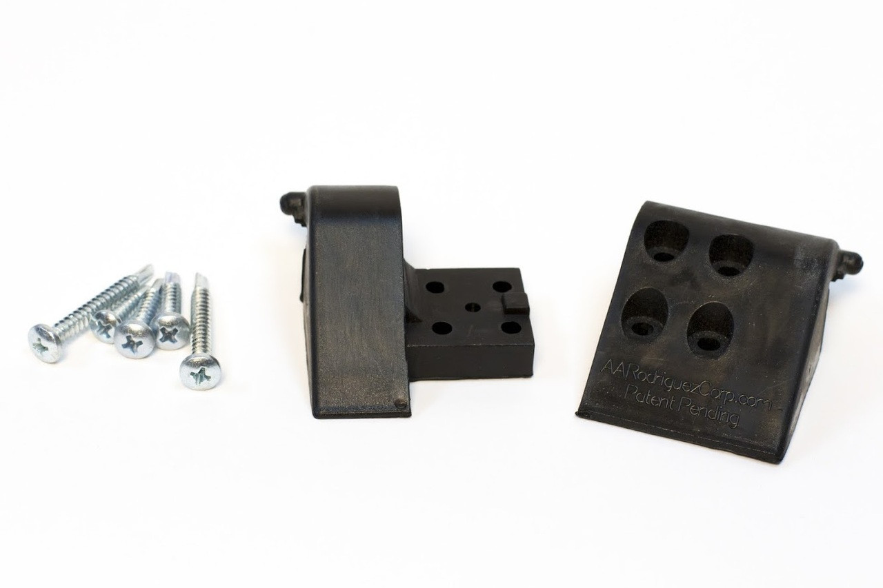 (Lifetime Warranty)   Armrest Lid Hinges (Black only) (AAR182)