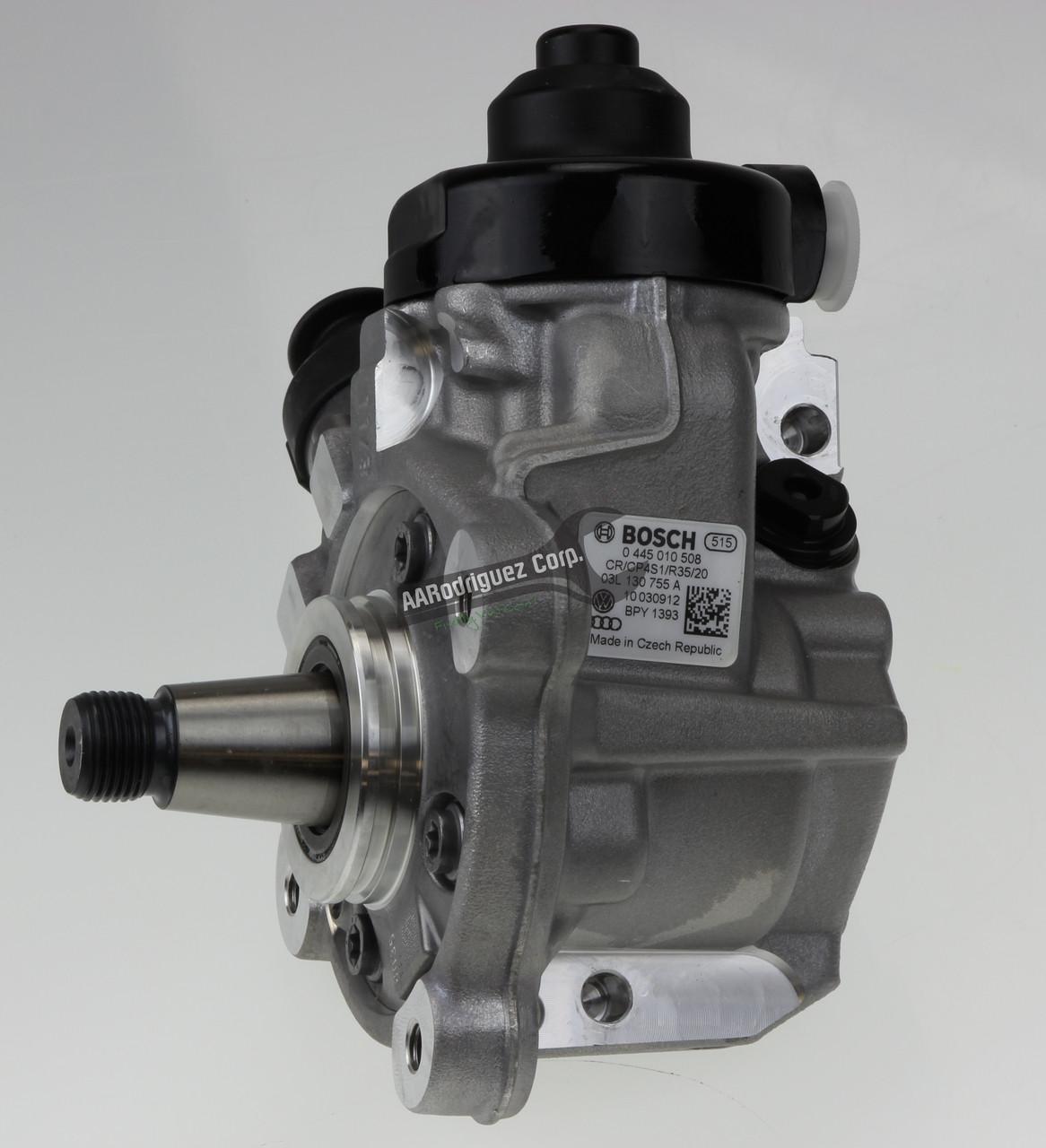 VW CR TDI High Pressure Fuel Pump (NEW) - HPFP Bosch - 03L130851A /  03L130755A (AAR1904)