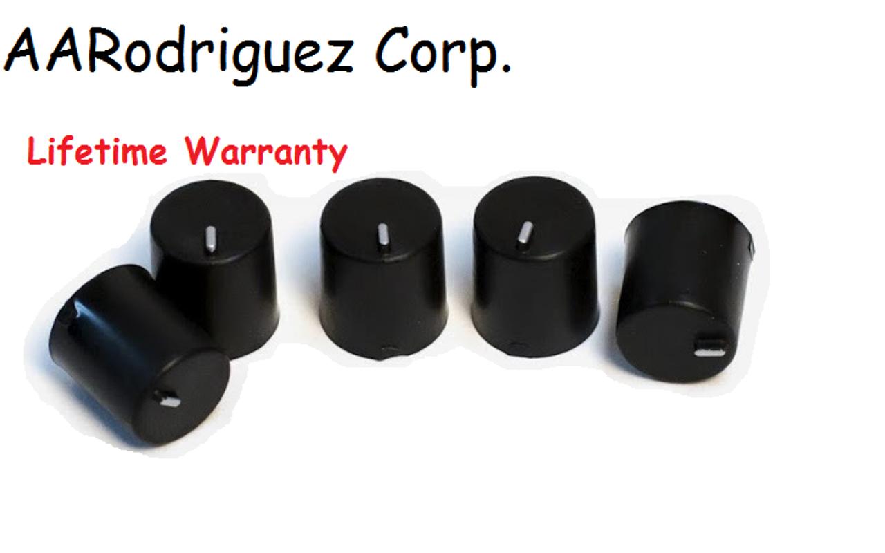 VW MK4 radio knobs - set of 5