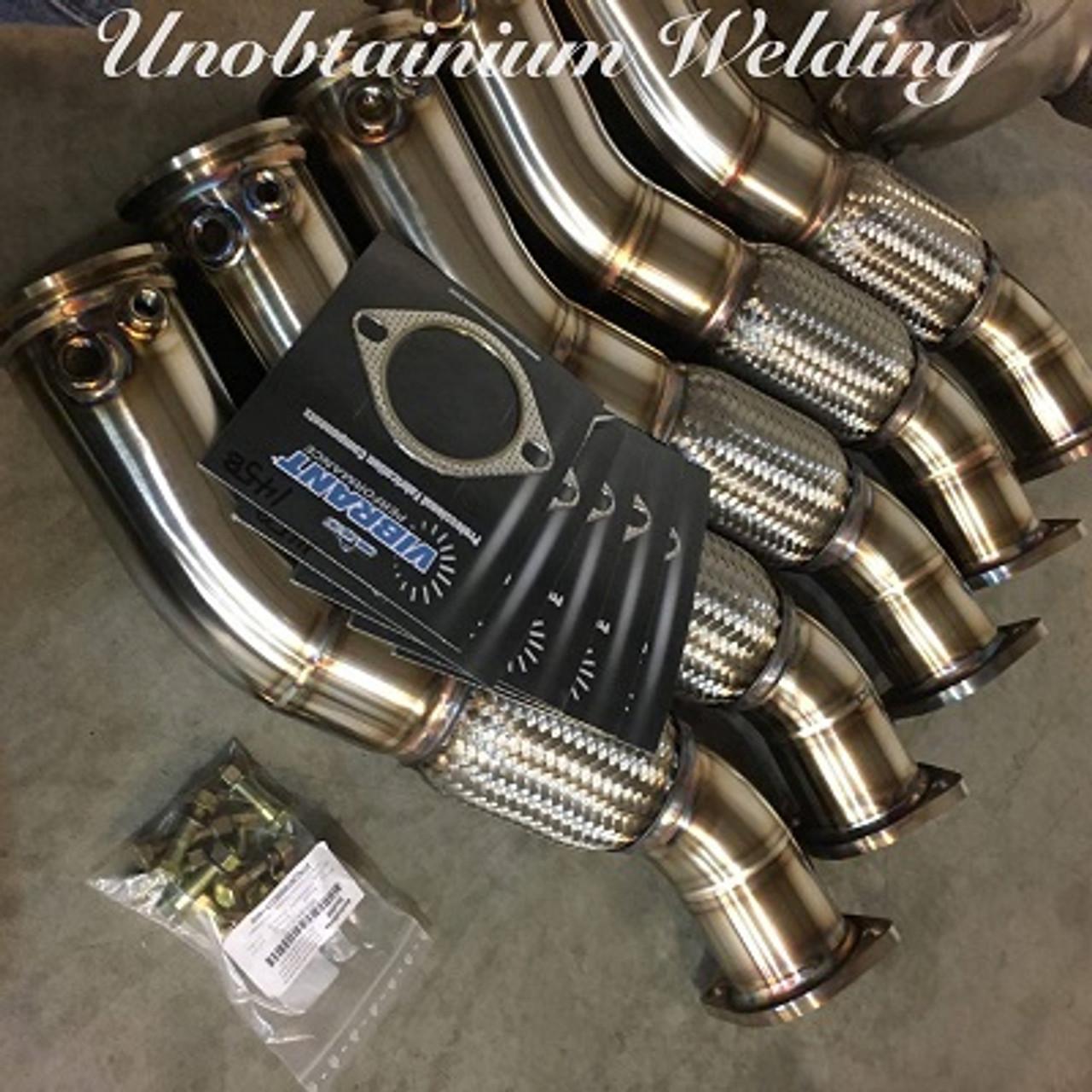 """Unobtainium - BMW 335D Downpipe - 3.5"""" (AAR2001)"""