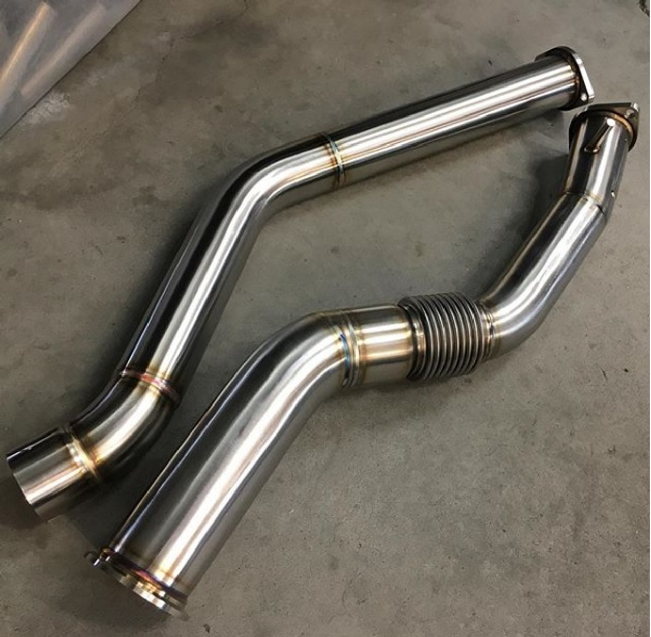 "Unobtainium - BMW X5 35D Downpipe Kit for DPF and SCR Delete - 3.5"" (AAR2005)"