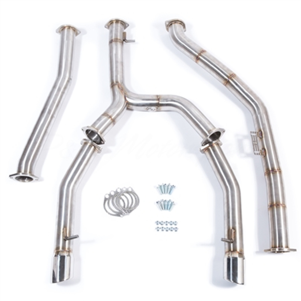 BMW 335D Catback Exhaust Kit - 304 Stainless Steel (PL-BMW500)