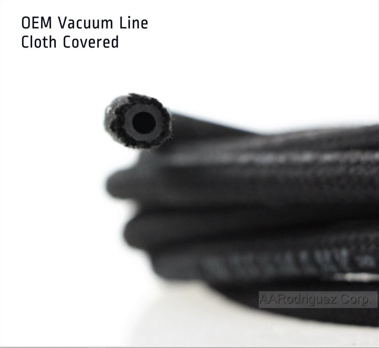 Cloth Covered Vacuum Hose - 3.5mm for all VW / Audi / BMW Engines (AAR2147)