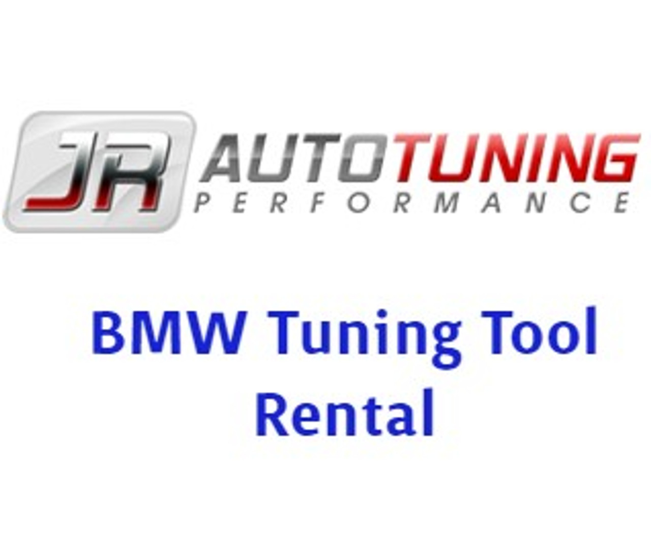 JR Auto Tuning BMW Tool Rental (AAR2364)