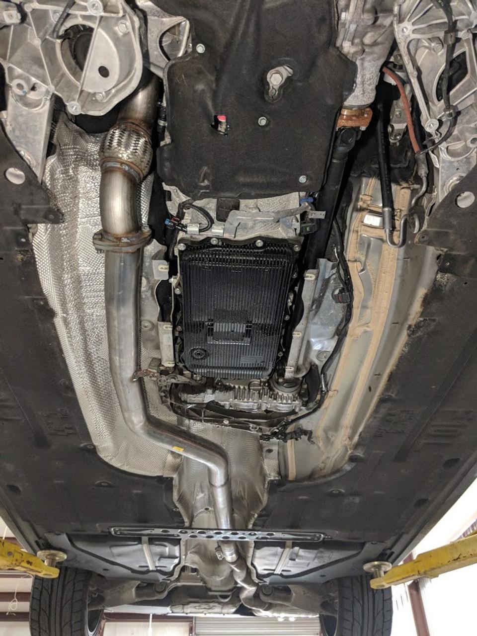 BMW 535D DPF and SCR cat delete - 3