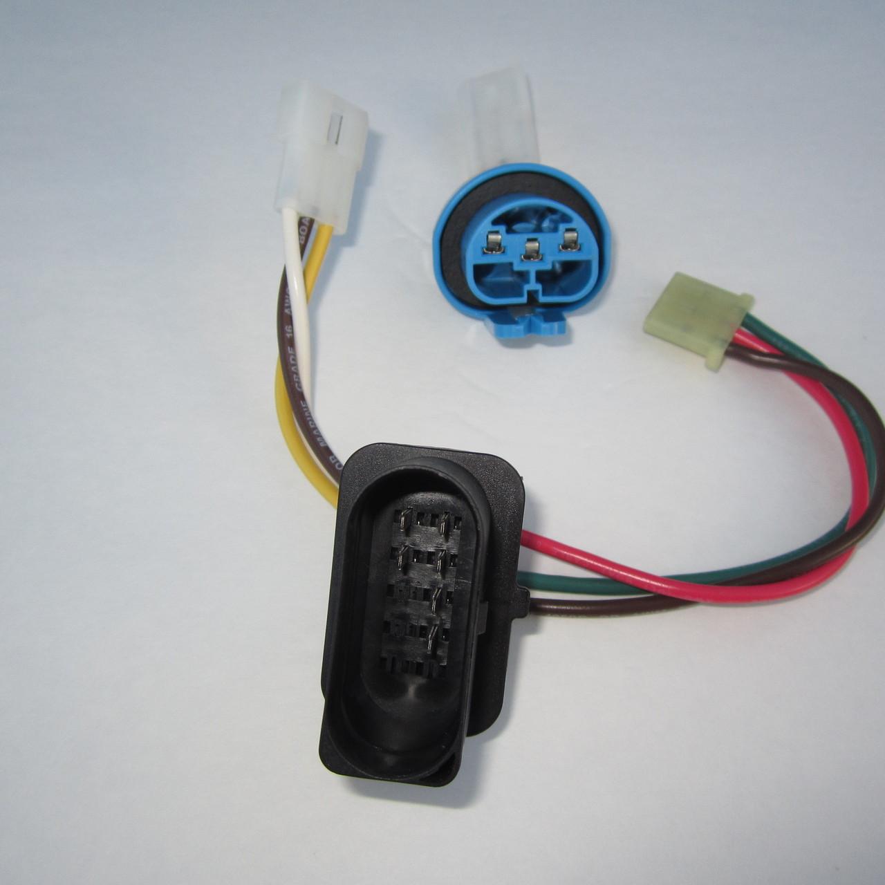 Brand New, Complete 9004/9007 Headlight Wiring Harness for MKIV Jetta
