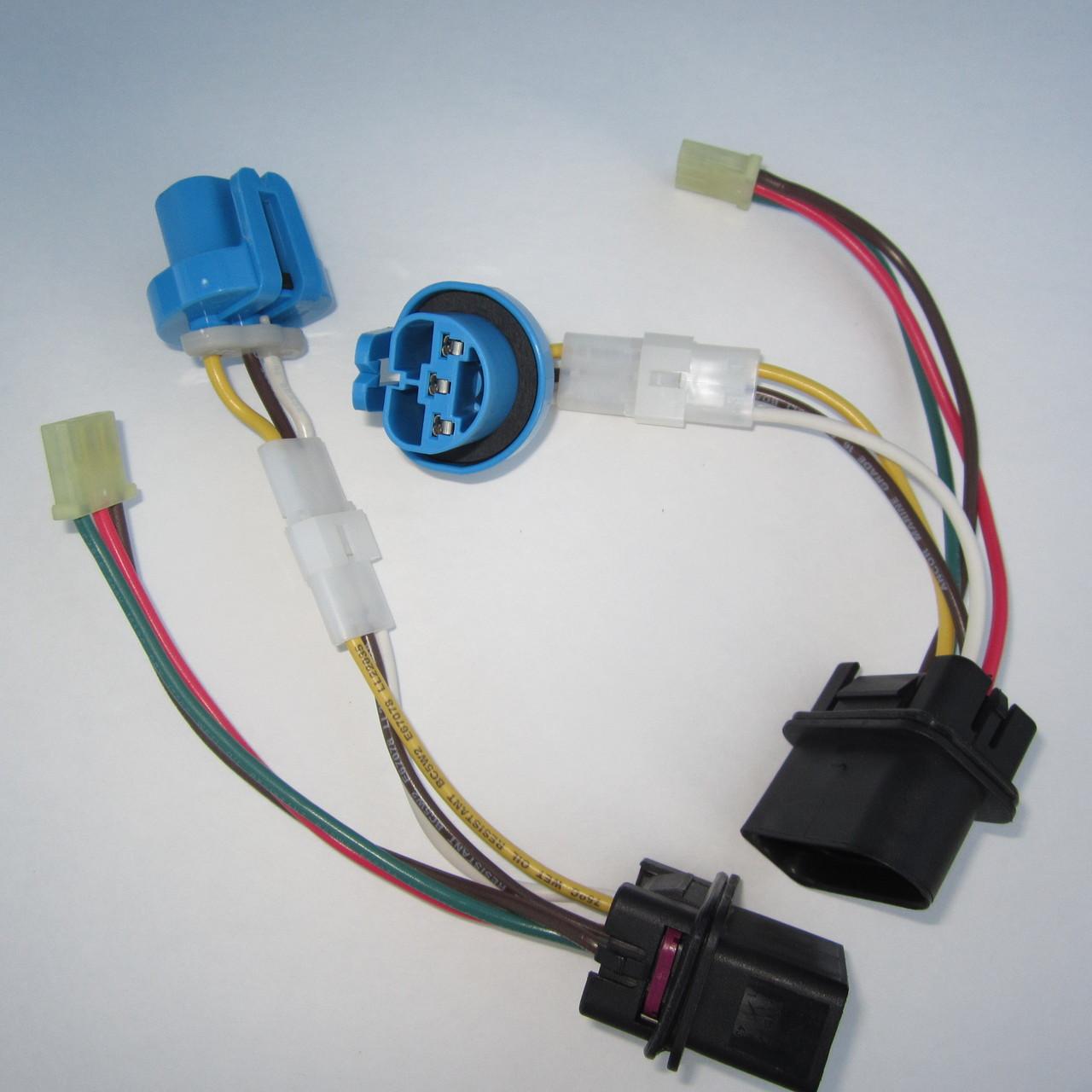 (2) Brand New, Complete Jetta Headlight Wiring Harness 1999 - 2005 VW MK4 Genuine OE Parts-4