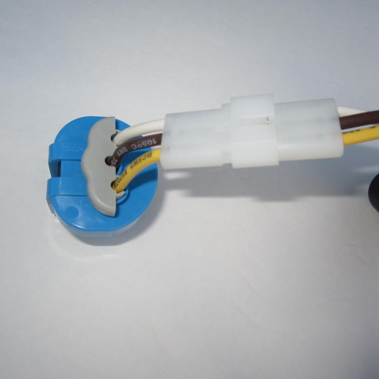 Brand New, Complete Jetta Headlight Wiring Harness 1999 - 2005 VW MK4 Genuine OE Parts - socket back