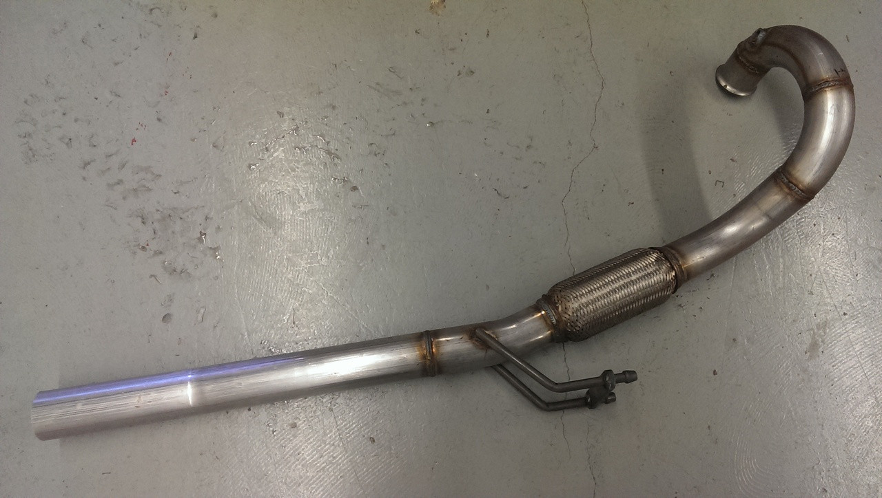 BRM TDI downpipe - 2005 and 2006 TDI