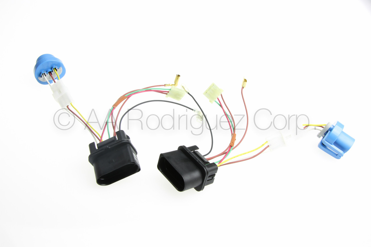 (2) New, Complete Jetta Headlight with Fog Lights Wiring Harness 1999 Vw Wiring Harness on vw alternator wiring, figure 8 cat harness, 68 vw wire harness, vw bus wiring location, 2001 jetta dome light harness, vw coil wiring, vw ignition wiring, vw wiring kit, vw starter wiring, vw engine wiring, vw headlight wiring, dual car stereo wire harness, goldfish harness, vw wiring diagrams, vw bus regulator wiring, vw beetle carburetor wiring, besi harness,