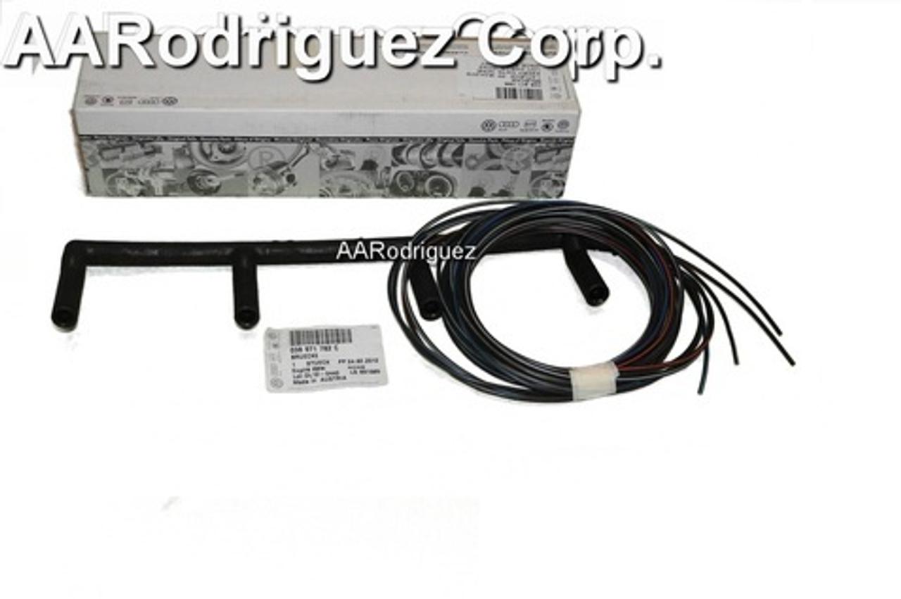 Genuine VW Glow Plug Wiring Harness for BEW and BRM TDI 038971782C on